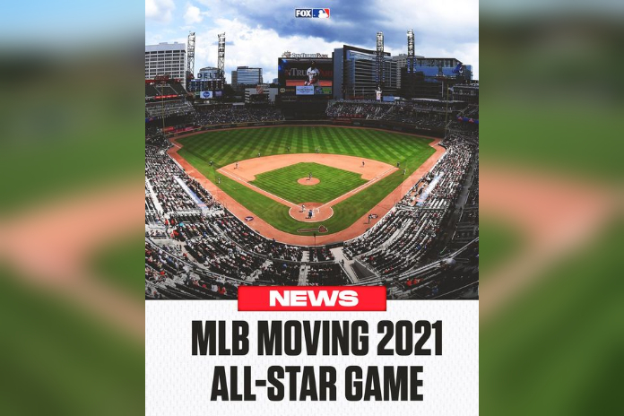 MLB moves All-Star game out of Atlanta, citing Georgia's new voting law